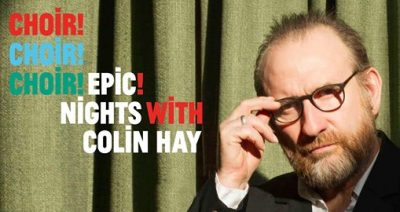 "Colin Hay sings ""Overkill"" with Choir!Choir!Choir!"