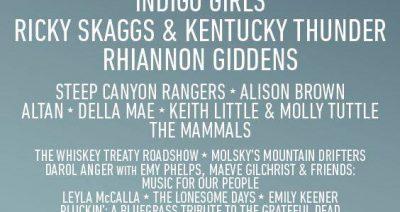 Freshgrass Festival 2018 – LINEUP ANNOUNCED